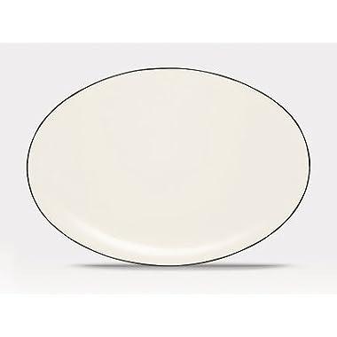 Noritake 16-Inch Colorwave Oval Platter, Graphite