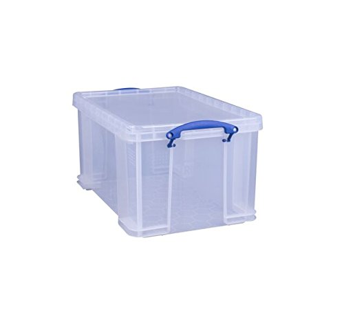 Really Useful Storage Box 48 Litre Clear