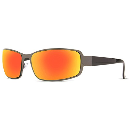 Rectangle Sport Sunglasses | Pacific Sol Driving Sunglasses for Men | TR90 - Notice Burn Glasses