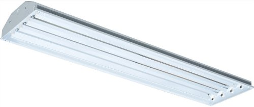 RAB RB4T8 Rab Rbay 4 X 32W T8 Linear Fl High Bay with Y Hook, White Color