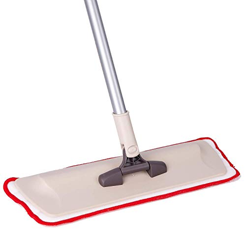 Microfiber Mop Hardwood Floor Cleaning-Washable Pads for Wood, Laminate& Tile-360 Professional Dry Wet Reusable Mop Pad