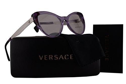 asses 51-17-140 Violet Crystal w/Clear Lens 5240 VE 3244 ()