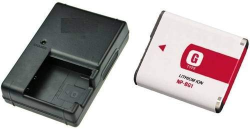 Lapbattery NP BG1 Type G Battery and Charger for Sony W Series DSLR Camera Action Cameras   Accessories