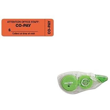 KITTAB40566UNV75606 - Kit de valor - Etiquetas médicas Tabbies Atención al personal de oficina (TAB40566