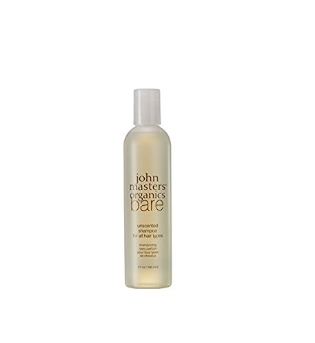 John Masters Organics - Bare - Unscented Shampoo for All Hair Types 8 Fl Ounce
