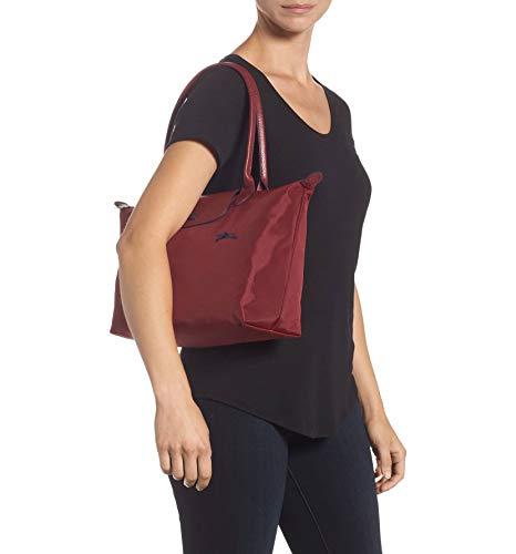 De Mujer Longchamp Bolso Hombro Nailon g5wwn1qC
