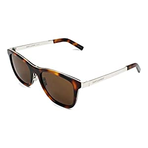 Yves Saint Laurent sunglasses Combi (SL-51 003) Dark Havana - Silver - Brown lenses