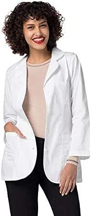 ADAR Mid-Long Lab Coat For Women