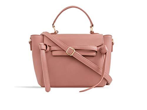 D Handbag Body Faux Cross Women's LeahWard pink 2382 Leather w04vqSg