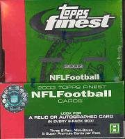 topps finest football hobby box - 4