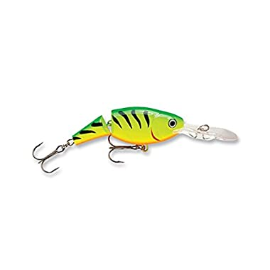 Rapala Jointed Shad Rap 04 Fishing lure (Firetiger, Size- 1.5)