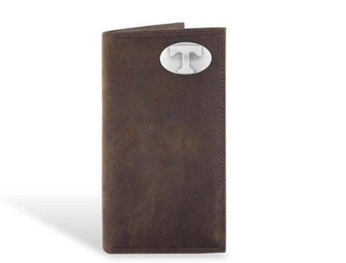 (Tennessee - Leather Crazy Horse Brown Long Roper Wallet)