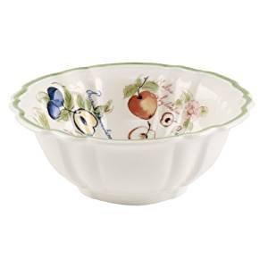VILLEROY & BOCH French Garden Arles Rice bowl - fluted