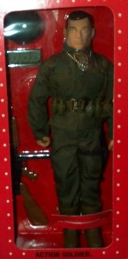 """12"""" GI Joe Action Soldier Action Figure WWII 50th Anniversary Numbered Commemorative Edition (Hasbro 1995)"""