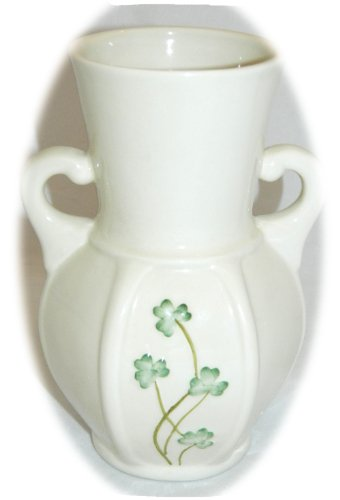 Watervale Table Vase With Shamrocks Parian China