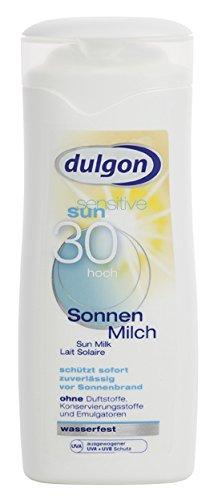 dulgon Sonnenmilch Sensitive LSF 30 - wasserfest 250ml