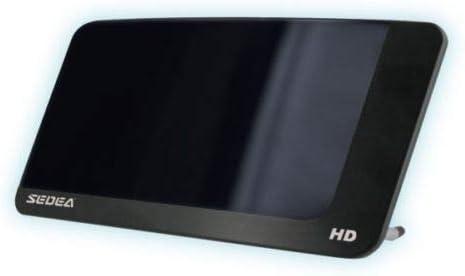 Interior Design Negra TV Tele Television Antena TDT 20dB VHF UHF FM