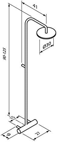Sanycces Indo - Columna de Ducha termostática, Color Negro Mate ...