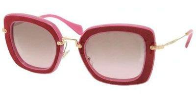 Miu Miu MU07OS Sunglasses-OAM/5P1 Fuxia/Bordeaux (Brown Gradient - Sunglasses 07os Miu Miu