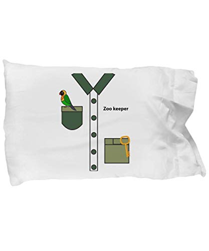 Cute Pillow Covers Design Zookeeper Halloween Costume for Boys and Men Gifts Gift Pillow Cover Ideas -