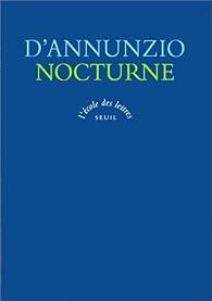 Nocturne par Gabriele D'Annunzio