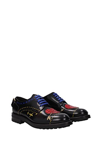 Dolce & Gabbana Lace up and Monkstrap Women - Leather (CN0037AI522) UK Black sale low shipping fee outlet visa payment wholesale price cheap online outlet for sale Jv6NTcV