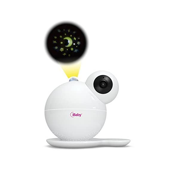 iBaby Care M7, Smart Wi-Fi enabled Digital Video Baby Monitor, 1080p Full HD, 360 Rotation, Moonlight soother, Music