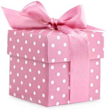 10 pequeñas cajas de regalo, color rosa: Amazon.es: Hogar