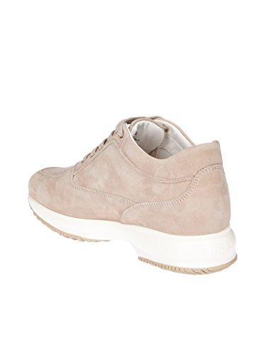 Donne Hogan Hxw00n0j940cr0m024 Sneakers In Camoscio Rosa