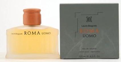 Roma Uomo de Laura Biagiotti – agua de colonia para hombre, en spray 4.2 oz