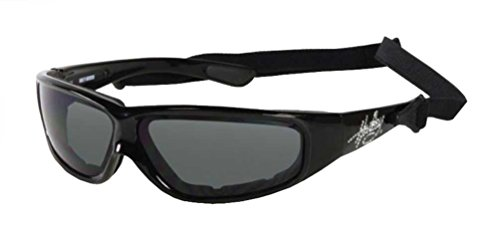 Harley-Davidson Women's Performance Sunglasses, Rhinestone, Black HDSZ6705-BLK-3
