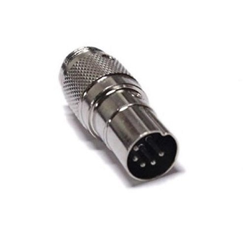 Workman C4P5DIN - Mic ADAPTER to Convert a 4 pin microphone to fit a 5 pin DIN Realistic CB ()