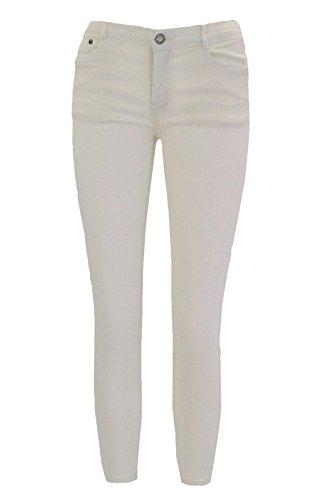 Blanc Femme unique Jeans Ex Zara taille H0BwP07q