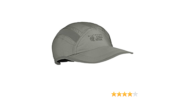 Mens L Light Gray Mountain Hardwear Canyon Sun Hiker 50 UPF Cap Hat NWT