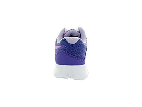 Girls Nike Flex Experience 3 Running Shoe (GS) Prpl Hz/Lt Mgnt/Hydrngs/White DSyCg