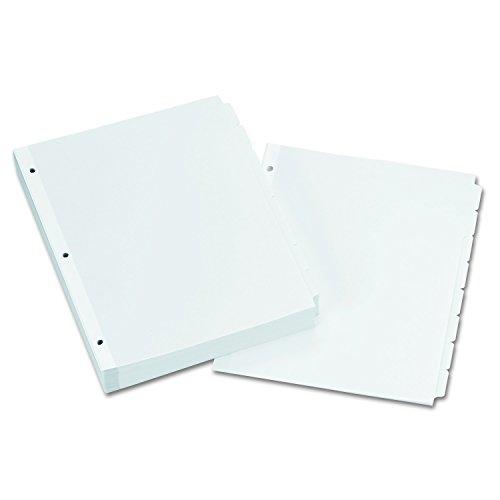 Cheap Avery Plain Tab Write-On Dividers, 8-Tab, 24 Sets (11507) supplier
