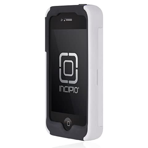 Incipio IPH-664 Stowaway Credit Card Case for iPhone 4/4S - Retail Packaging - White (Iphone 4 Stowaway Case)