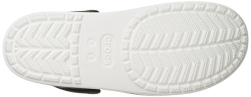 Crocs Citilane Clog, Zuecos Unisex, , Negro (Black/White)