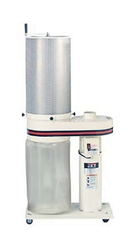 JET 708642CK DC-650CK 1-Horsepower 650 CFM Canister Dust Collector, 115 230-Volt 1-Phase