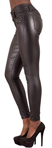 Vida nbsp; De Tallas 38 Jeans Skinny nbsp;46 Alta nbsp;– Crazy Mujeres Recubierta Look Lover Piel Pantalones 4p0Spq
