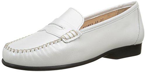 Luxat Johan, Mocassins Femme Blanc (blanc Optique)