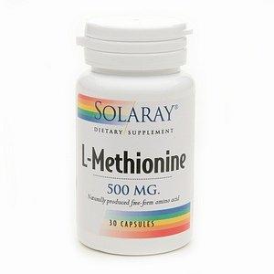 Solaray L-méthionine 500mg 30 ch