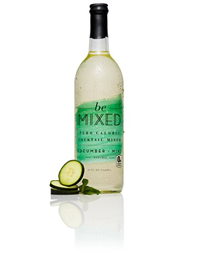 Zero Calorie Cucumber Mint Cocktail Mixer by Be Mixed | Low Carb, Keto Friendly, Sugar Free and Gluten Free Drink Mix | 25 ounce, Single Bottle ()