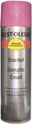 Rust-Oleum - High Performance V2100 System Enamel Aerosols 838 Safety Purple Finish: 647-V2167838 - 838 safety purple finish [Set of 6]