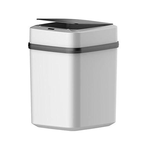 Kitabetty Bote de Basura Inteligente para el hogar, inducción automática con Tapa Sala de Estar Cocina Dormitorio Baño…