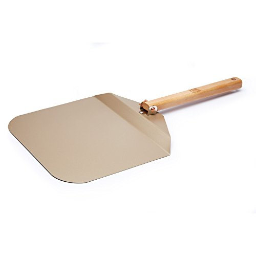 Paul Hollywood Pizza Peel Paddle with Folding Handle, Non-Stick