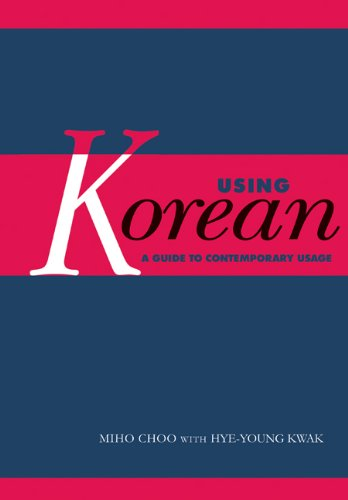 using-korean-a-guide-to-contemporary-usage