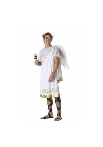 RG Costumes Men's Cupid, White/Gold One Size -