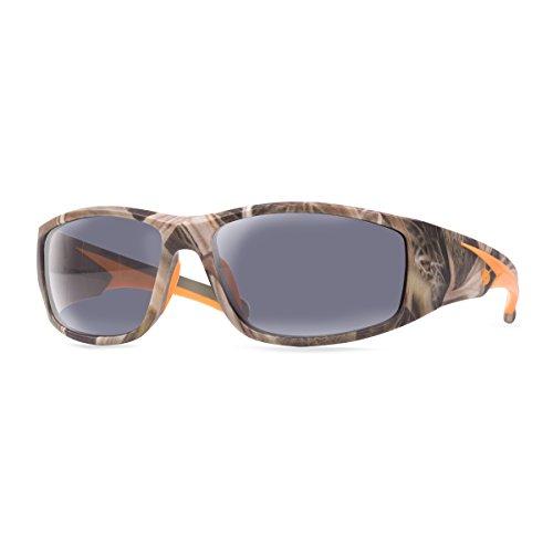 Mossy Oak Razorback Safety Glasses (Shadow Grass Blades with Smoke Lens)