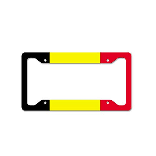Custom Auto Frames Belgium Universal License Plate for sale  Delivered anywhere in USA